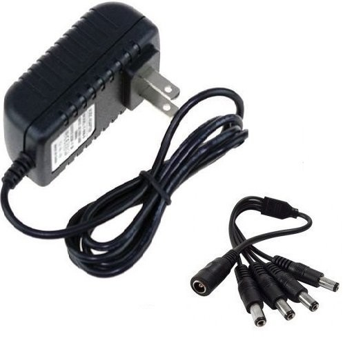 CamVtech USA 12V 2A (2000mA) AC DC Power Supply Adapter + 1 Female